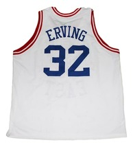 Julius Erving #32 ABA East Basketball Jersey White Any Size image 4