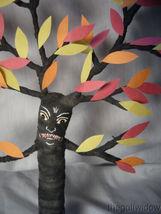Vintage Inspired Spun Cotton Halloween Haunted Tree Man no. HW26 image 3