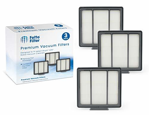 Fette Filter 3-Pack Pre-Motor HEPA Filter Replacement for Shark ION Robot RV700_