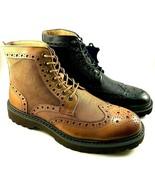 La Milano B51312 Leather Lace Up Men's Ankle Boots Choose Sz/Color - $51.20