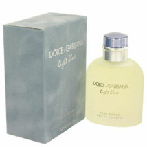 Dolce&Gabbana 4.2oz Light Blue Eau de Toilette for Men FREE SHIPPING - $78.00