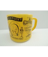 Federal Glass Mug Kentucky Themed Flower Bird Falls Derby Churchill Down... - $49.99