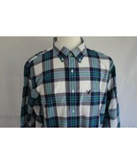 American Eagle Outfitters Men's Long Sleeve Button Down Front Shirt Size... - $19.79