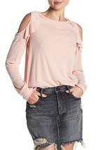 Sanctuary Womens Rose Ashley Bare Ruffle Cold Shoulder Shirt Top Size Sm... - €24,93 EUR