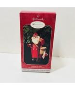 Making His Own Way 1998 Membership Ornament Hallmark Keepsake Santa - $9.74
