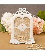 Stunning 50 years gold anniversary frame 5 x 7 - $148.64