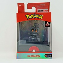 Pokemon Wicked Cool Toys Marshadow Select Collection Figure W/Display Case S1 - $14.99
