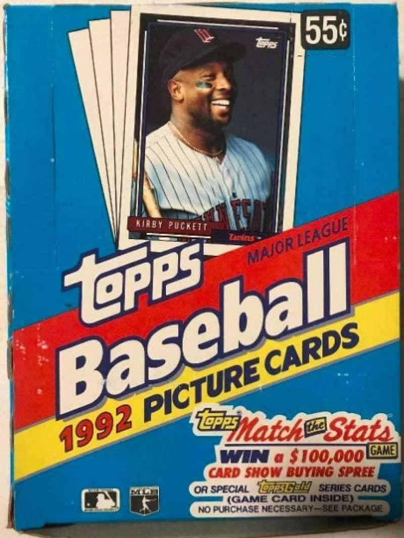 Primary image for 1992 Topps #45 Gary Carter MLB Baseball Trading Card