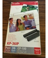CANON SELPHY CP COLOR INK/PAPER SET KP-361P - $9.49