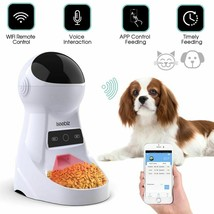 3L Automatic Pet Feeder With Voice Record Pets food Bowl For Medium Smal... - $96.99+