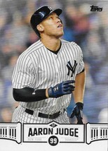 2018 Topps Aaron Judge Highlights #AJ-2 Aaron Judge NM-MT Yankees - $1.29