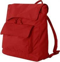 ZUZIFY Peach Skin Knapsack Backpack. JC0796 Red - $24.00