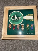 CLUE Nostalgia Series Parker Brothers 2002 Board Game Wooden Box - $71.73