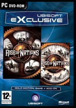 RISE OF NATIONS GOLD EDITION. BRAND NEW SEALED FOR PC. SHIPS FAST and SH... - $8.95