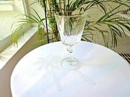 Set of 5 Noritake Courtly Pattern Crystal Water Glasses - $29.70