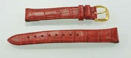 Fossil Unisex Acciaio Inox pelle Rossa Ricambio Clip - $9.83