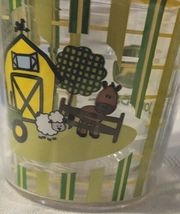 John Deere LP67610 6oz My First Tervis Yellow Farm Scene Sippy Cup image 4