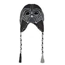Star Wars Darth Vader Laplander Hat Beanie  Black NWT - $10.95