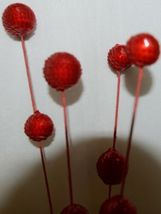 Unbranded 54805 Red Ball Spray Holiday Decoration image 5