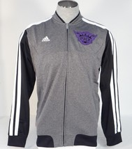 Adidas NBA Phoenix Suns Gray Zip Front Track Jacket Mens NWT - $71.24