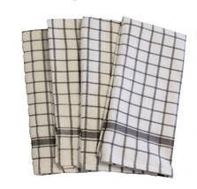 Cotton Kitchen Terry Towels Grey 4/pack - $14.89