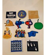 Beatles sew on patch lot of 12 yellow submarine and others - $34.64
