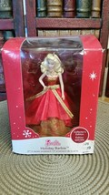 Heirloom Christmas Ornament Collection Holiday Barbie American Greetings - $5.94