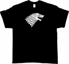 GOT Stark Black or White T Shirt 100% Cotton Tee by BMF Apparel - $20.79+