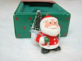 Hallmark Thimble Santa 1985 #8 Series Original Box with Price Tag Great ... - $12.38