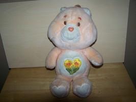 "Care Bears 14"" FRIEND BEAR Plush Stuffed Animal Bear Kenner 1983 - $24.00"