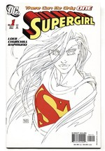 SUPERGIRL #1-2005-2nd print-Michael Turner sketch variant - $35.31