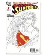 SUPERGIRL #1-2005-2nd print-Michael Turner sketch variant - $35.31