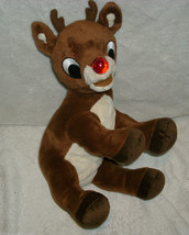 """12"""" 2008 COMMONWEALTH RUDOLPH RED NOSED REINDEER CHRISTMAS STUFFED ANIMA... - $17.77"""