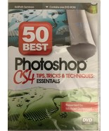 50 Best Photoshop CS4 Tips Tricks Michael Gatewood DVD-RARE VINTAGE-SHIP... - $161.77