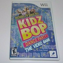 Kidz Bop Dance Party The Video Game (Nintendo Wii, 2010) - $17.96