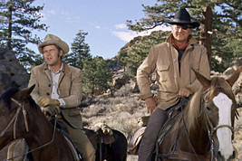 John Wayne and Glen Campbell in True Grit on Horses Classic Western 1969... - $23.99