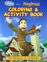 Brother Francis Forgiven! Coloring & Activity Book Children's Brand NEW - $8.20
