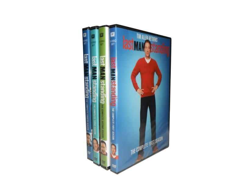 Last Man Standing The Complete Series Seasons 1-4 DVD Set 12 Disc Free Shipping