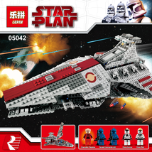 LEPIN 05042 Star Wars Venator-Class Republic Attack Cruiser Custom Build... - $117.00