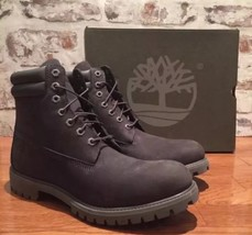 TIMBERLAND MENS CHARCOAL GRAY 6 INCH DOUBLE SOLE LEATHER WORK BOOT A1OIS... - $2.652,90 MXN