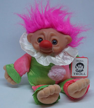 """DAM Troll Vintage D.A.M. Model 1059 10"""" Jester Toy Doll With Tags Good C... - $33.53"""