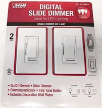 Feit Electric Digital Slide Dimmer Ideal for Led Lighting 2 Pack - $18.59