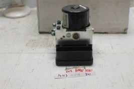 2012 Bmw 328i Anti-Lock Brake ABS Pump 3451685732 Module 241 14N3 - $178.19