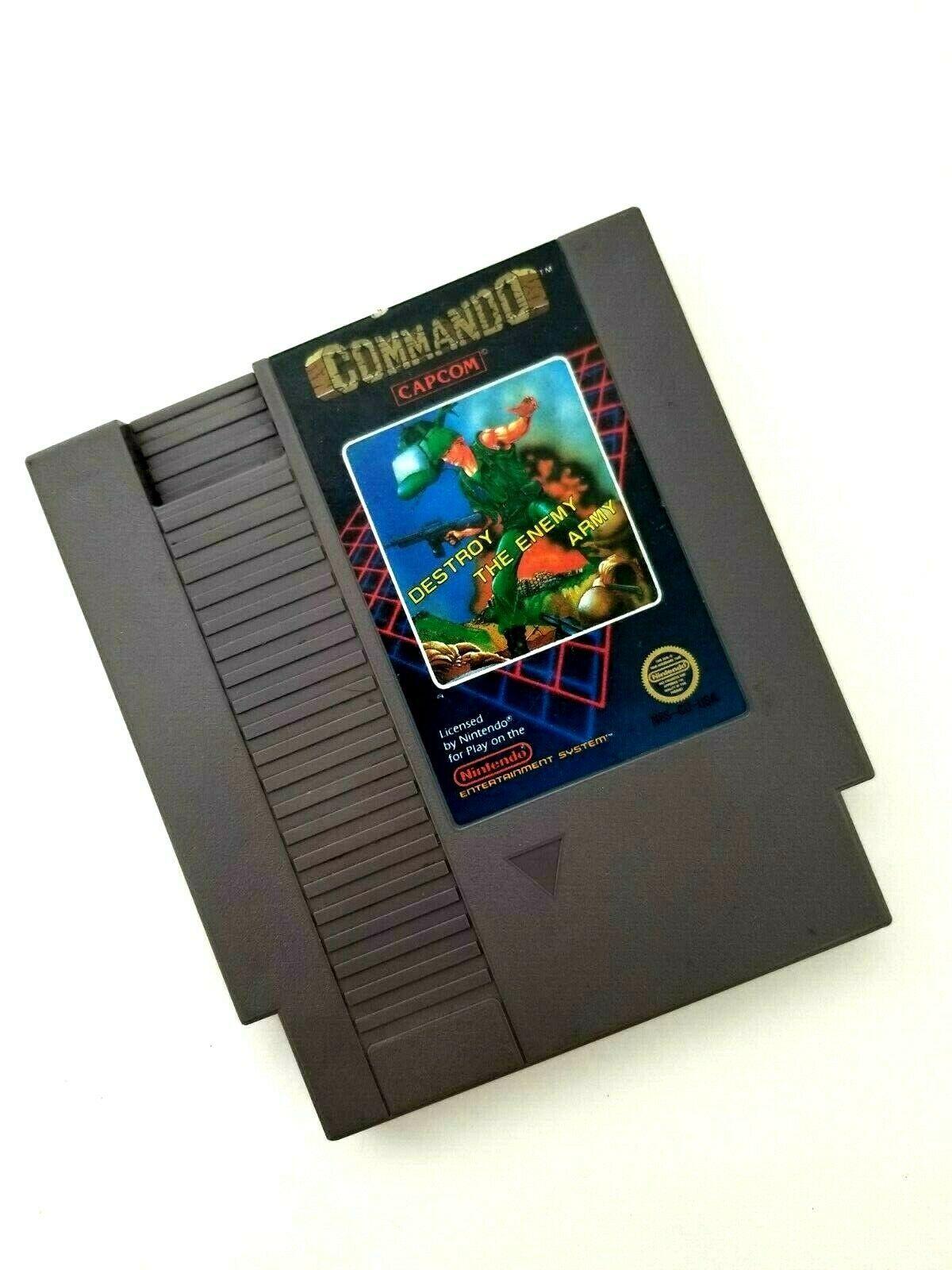 Commando (Nintendo Entertainment System, 1986) NES Cartridge Only by Capcom
