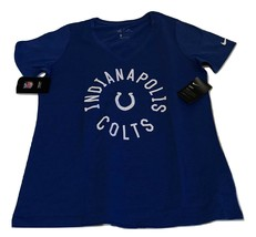 New NWT Indianapolis Colts Nike Dri-Fit Touch Women's Size XL Shirt $35 - $23.71