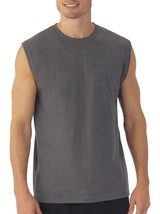Fruit Of The Loom Men's Platinum Muscle Shirt Size Small 34-36 Charcoal  - $9.89