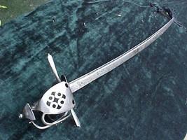 FINE SABER DUSSAGGE SINCLAIR SABER SWORD 16th CENTURY SWORD PIRATE GOLD ... - $7,950.00