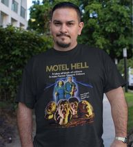 Motel Hell T Shirt retro 1980s horror movie classic 80s film graphic tee shirt image 3