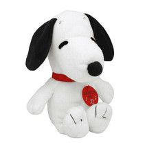 """TY* 8"""" Tall PEANUTS SNOOPY Original BEANIE BABIES Plush Toy DEAD BATTERY... - $10.79"""