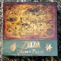 """USAopoly Official Nintendo """"The Legend of Zelda"""" Collector's Puzzle New Sealed   - $39.59"""